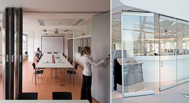 Tabiques Moviles para crear separaciones en habitaciones