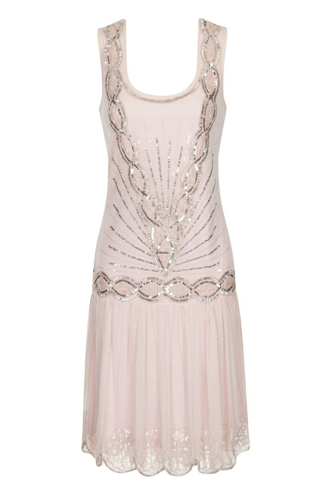 ... Gatsby Dresses, Flappers Dresses, Pink Wedding Dresses, 20S, Pale Pink