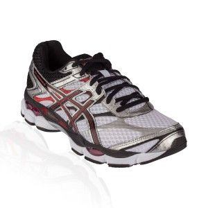 Asics - Gel Cumulus 16 Running Shoe - White/Black/Red