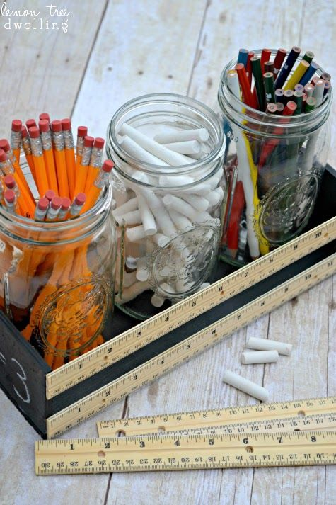 Lemon Tree Dwelling: Back to School Ruler Crate