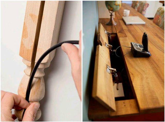 Decoração: escondendo os fios e cabos elétricos! - Jeito de Casa - Blog de Decoração
