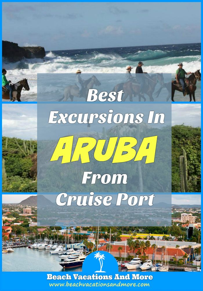 Aruba shore excursions for cruise ship passengers - ATV and TV rides, Natural Pool Swim And Horseback Riding, island highlights and more adventures