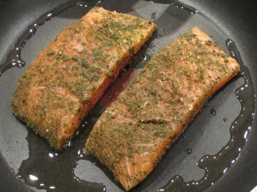 Jamie Oliver's 15 Minute Meals: Green Tea Salmon