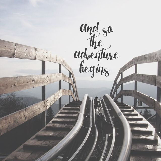 Let's go 2016! I need a massive change to happen! Please give me the adventure of a lifetime!!