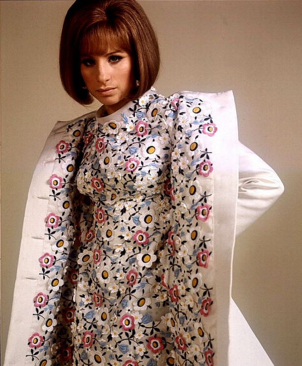 1969 Barbra Streisand in costume by Arnold Scaasi