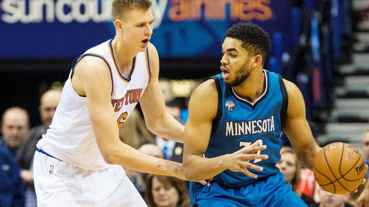 Rookie of the Second Trimester: Karl-Anthony Towns, Wolves