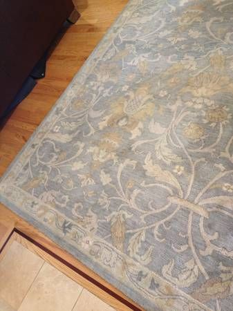 Pottery Barn Darby Slate Blue Rug Living Room Pinterest Blue Rugs Rugs And Pottery