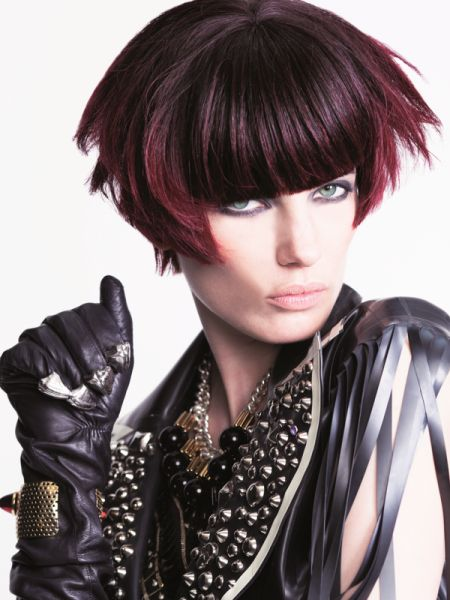 Fashionista Smile: Intercoiffure: Top 4 Hairstyles Inspirations for the 2014