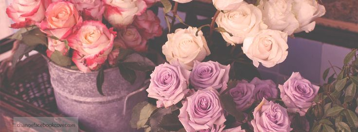 Facebook covers: flowers