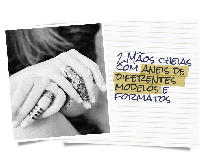 Anel de Falange: Especial Acessórios   Dani Romani Consultoria de Imagem     anéis     knucke rings     accessories     fashion     trend     tendência     jewelry   