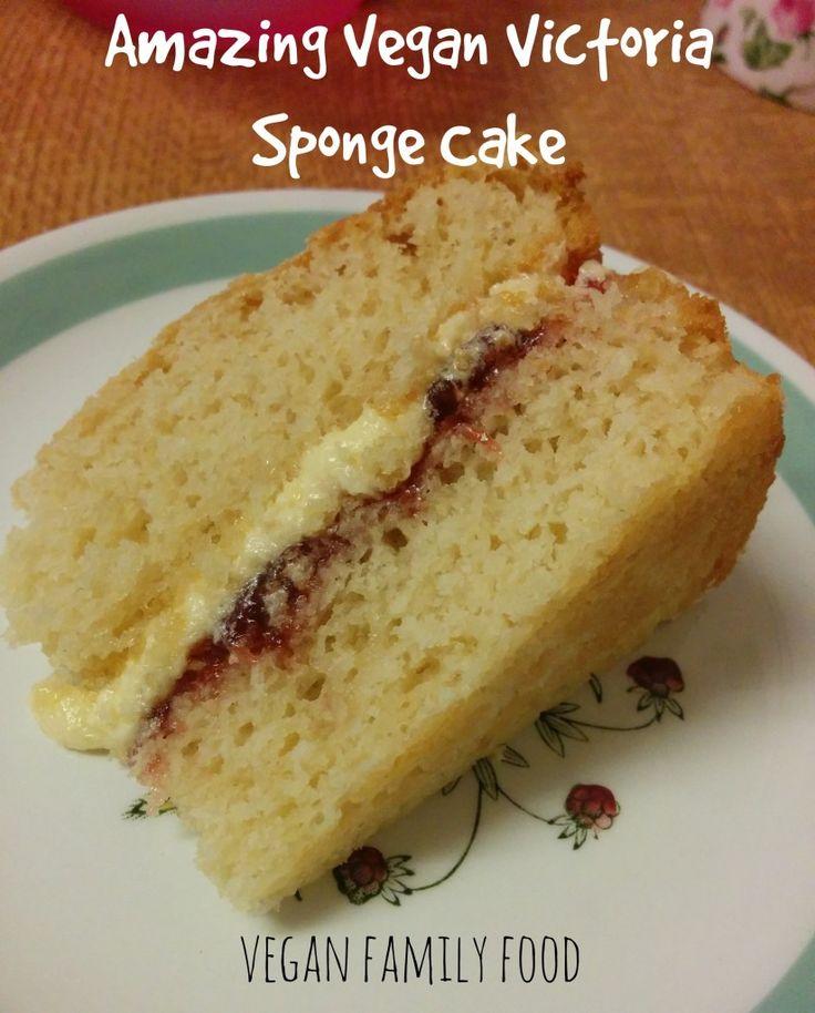 vegan victoria sponge cake dobre