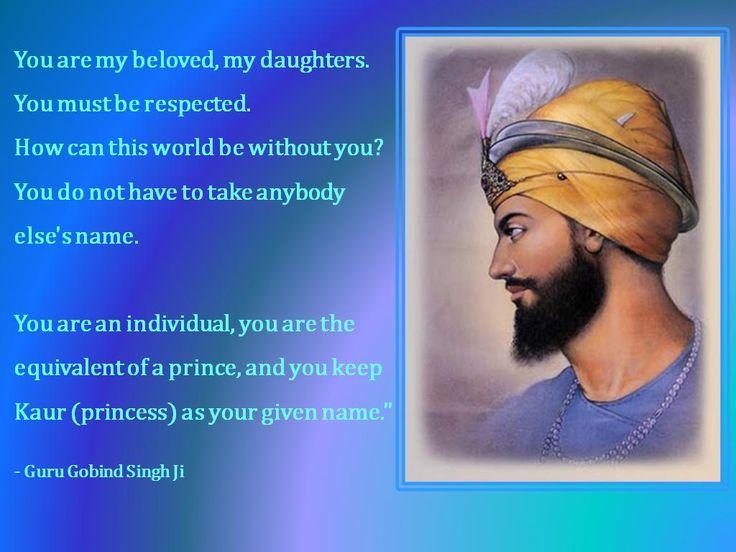 Quote by Guru Gobind Singh Ji