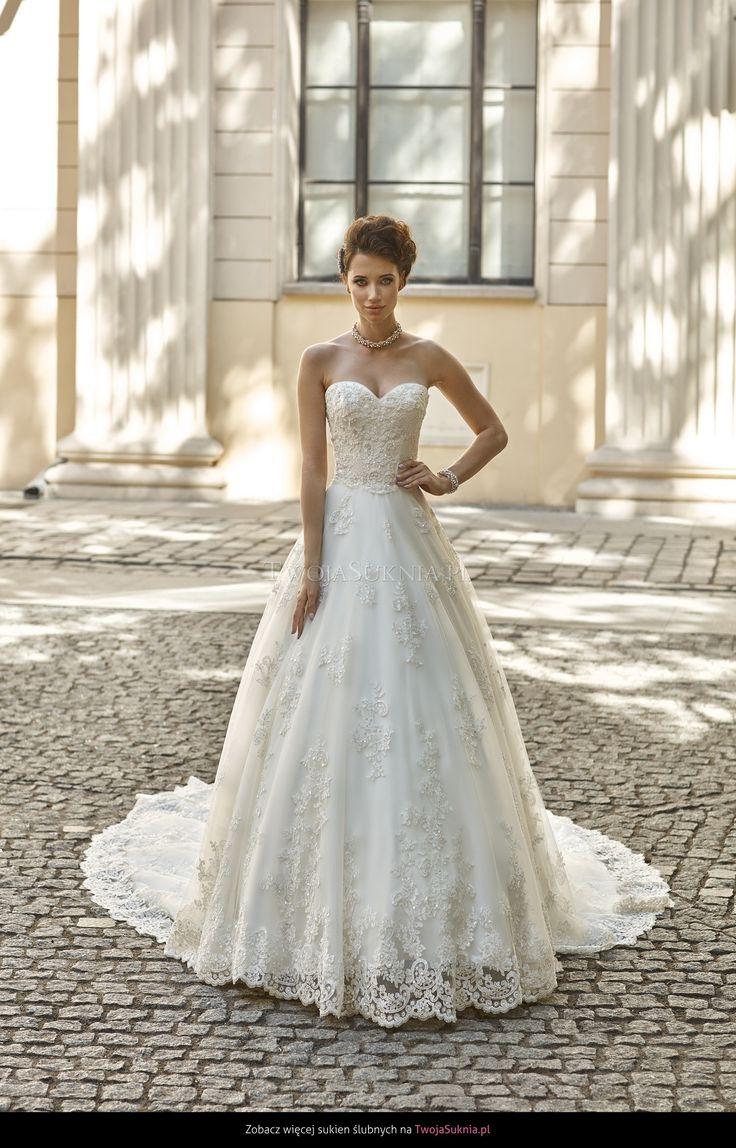 Suknia ślubna Annais Bridal Greta 2016 - TwojaSuknia.pl