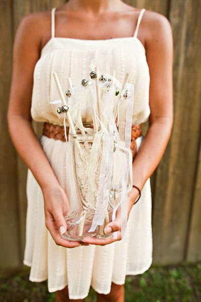 Sorella Style DIY Bell Send Off Wands Diy Magic Bells Ribbon Easy Weekend Project A Whimsical Life