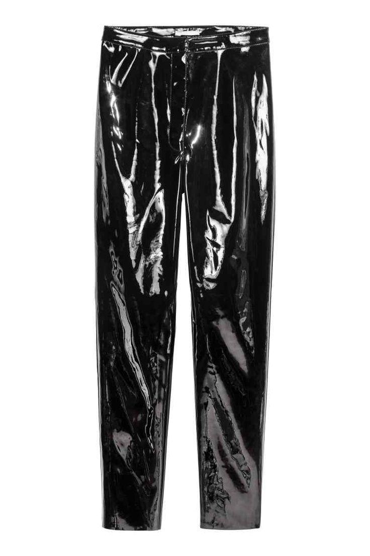 Lakkozott nadrág | H&M
