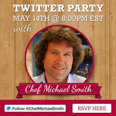 #LoveLentils Twitter Party details May 14, 2013 @ 8pm with @CdnLentils and @ChefMichaelSmth 400 x 400 px