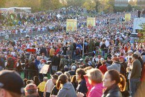Marine Corps Marathon Photos : Crowd