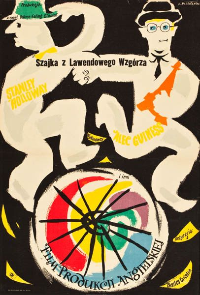 1956 MLODOZENIEC: Szajka z Lawendowego Wzgorza
