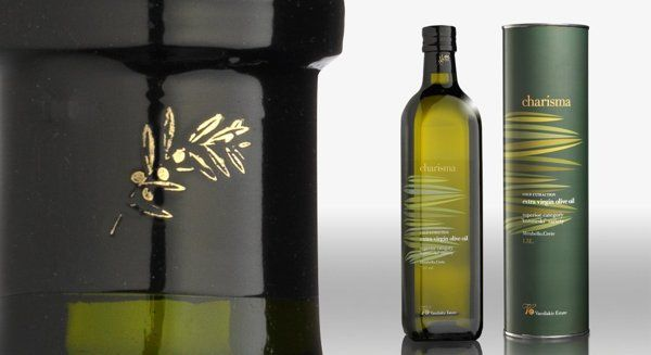 Charisma extra virgin olive oil by DASC Branding, Athens , via Behance