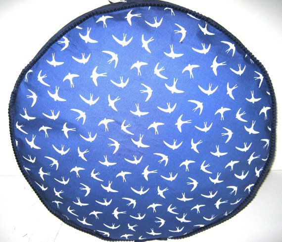 Sparrows and Shallows  Pouffe Foot Rest Floor Cushion Pouff