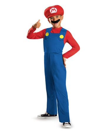 Look what I found on #zulily! Mario Dress-Up Set - Toddler & Kids…