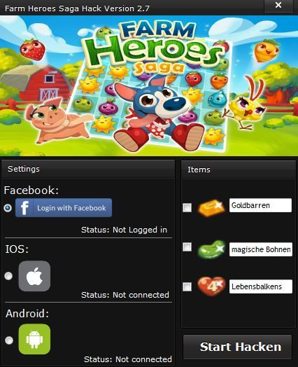 Farm Heroes Saga Hack V.2.7 [WORKING]