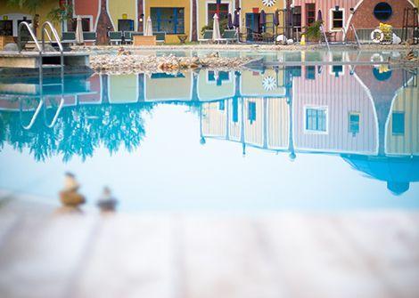 Rogner Bad Blumau - Hundertwasser Therme und Wellness-Hotel in Steiermark, Austria. An InterWien fave for a weekend getaway from Vienna/Wien.