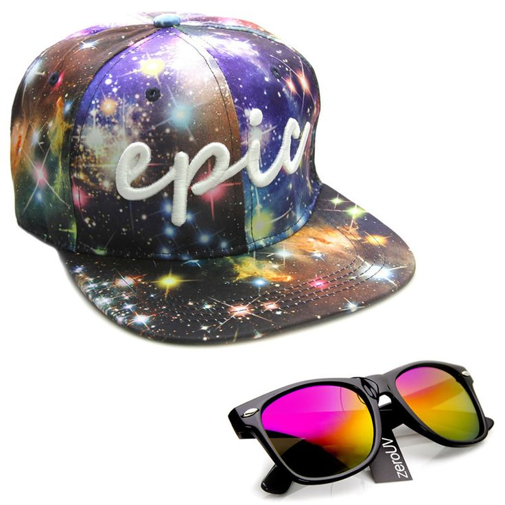 To Infinity and Beyond: EXCLUSIVE ZEROUV X EPIC BMX COLLABORATION SNAPBACK CAP HAT