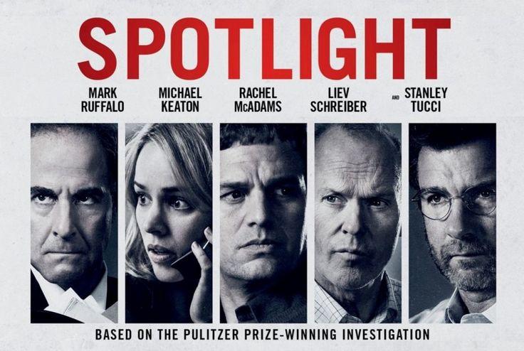 Comentarios y crítica de 'Spotlight', filme de Tom McCarthy de 2015...