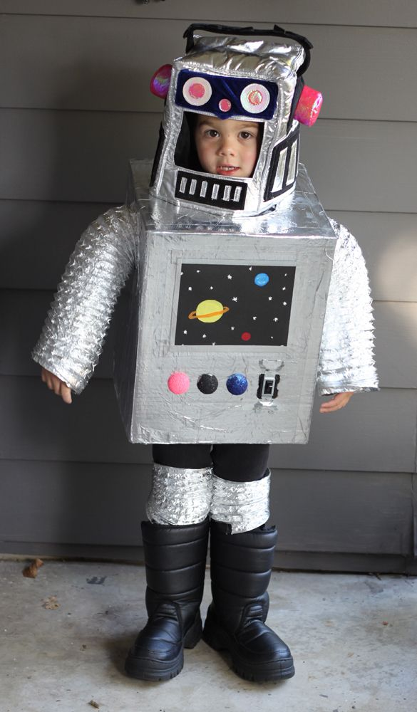 Best 25 space costumes ideas on pinterest space theme costume diy space robot costume solutioingenieria Choice Image