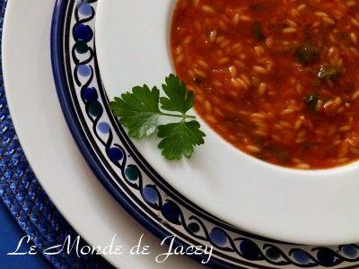 Chorba tunisienne. Heute ist mal wieder Chorba-Zeit mit einem Basisrezept für eine einfache…