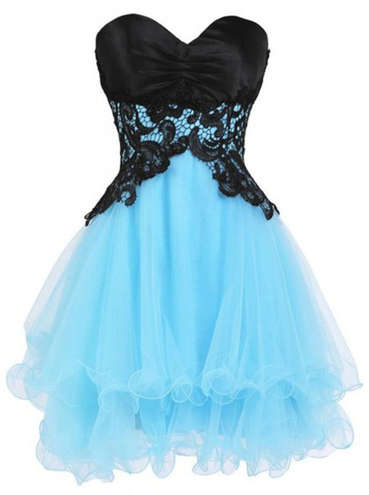 Fabulous Above-knee Sweetheart Homecoming Dress with Appliques