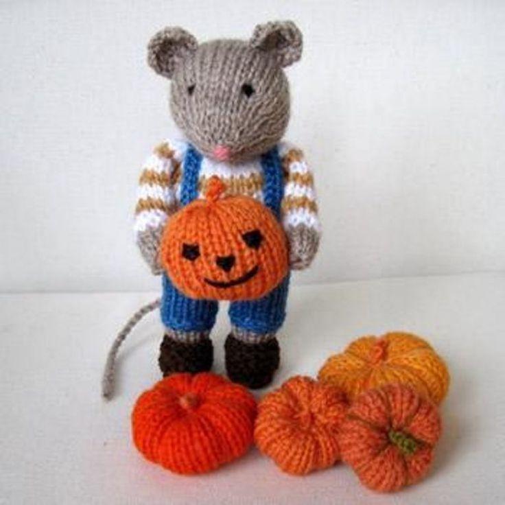20 Premium Halloween Knitting Patterns | Halloween ...