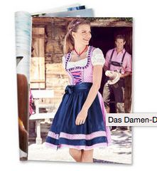 Galeria Kaufhof in Aachen also has Dirndl and Lederhosen for sale at the moment.