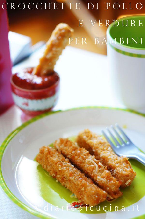 Crocchette di Pollo e Verdure (per Bambini)