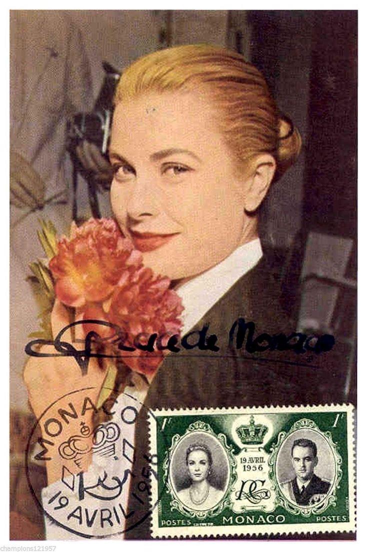 Grace Kelly Autogramm Hollywood Legende 2 | eBay