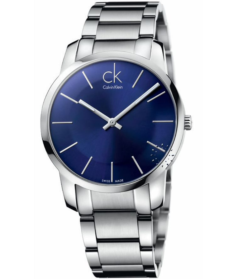 CALVIN KLEIN City Stainless Steel Bracelet, 206€ http://www.oroloi.gr/product_info.php?products_id=33643