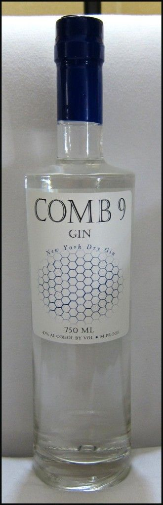 Comb 9 Gin Bottle PD