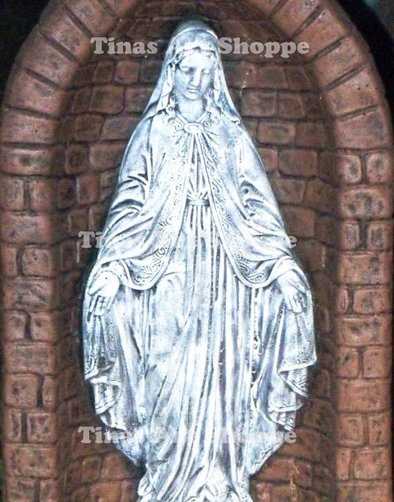 Blessed Virgin Statue Photo Virgin Mary Photo Clipart
