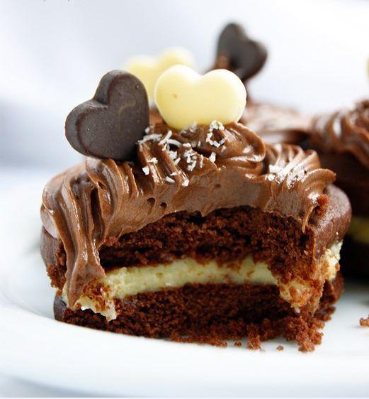 Čokoládové  sušienky  s  kokosovým  krémom