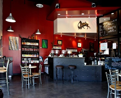 Today's Deal: Great Coffee & Gourmet Sandwiches $10 (Value $20)!     Enjoy $20 worth of food and beverage at Matador Coffee for only $10.00! Matador is great coffee for people who care what's in their cup!