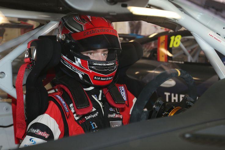 Jeffrey Schmidt (CH), Porsche Mobil 1 Supercup Test Barcelona