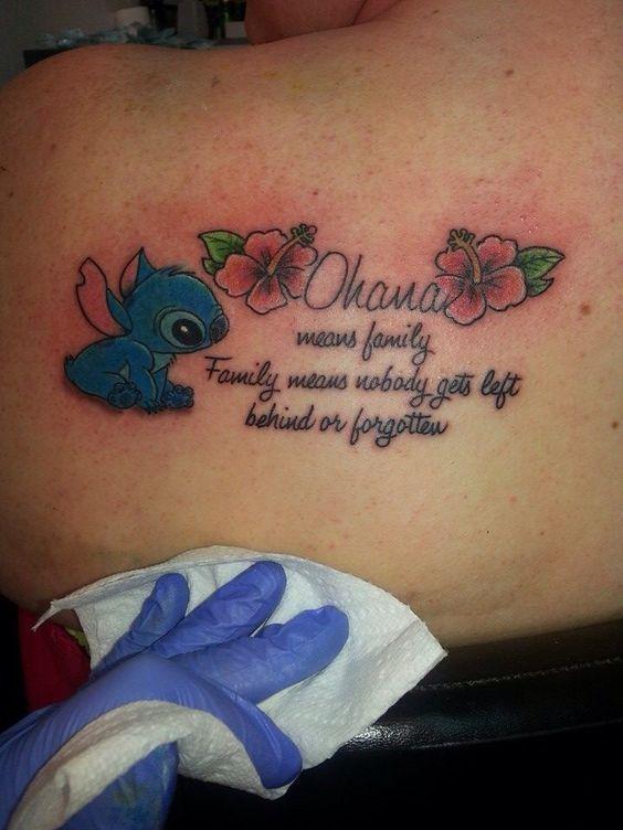 Resultado de imagen para tattoo ohana means family