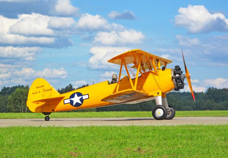 Boeing-Stearman Model 75 puzzle in Aviation jigsaw puzzles on TheJigsawPuzzles.com. Play full screen, enjoy Puzzle of the Day and thousands more.