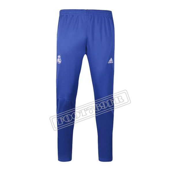 Destockage:Nouveau Pantalon Survetement Real Madrid Bleu 2016 2017 Thai Edition | Foot769Fr