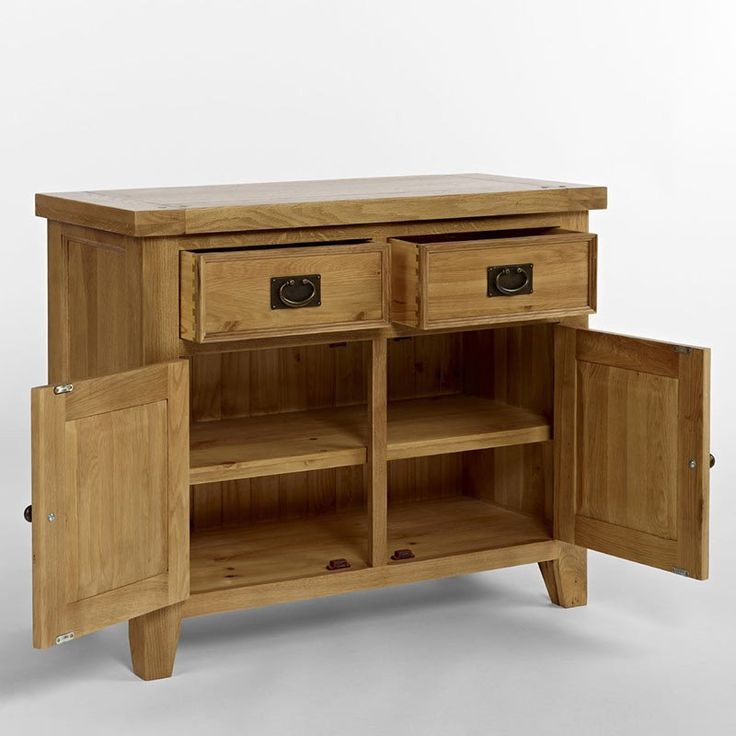 Elegance Solid Oak Sideboard / Buffet (Buffet Only)  (Sizes Small , Medium) -  - Sideboard - Ametis - Space & Shape - 3