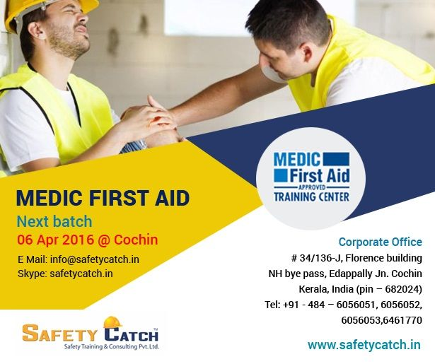 HURRY!!! TODAY IS THE LAST DAY!!! For Online Registration: http://www.safetycatch.in/html/contact.html Contact us for details: http://www.safetycatch.in/html/contact.html ~www.safetycatch.in ‪#‎SafetyTraining‬ ‪#‎SafetyTrainingProgram‬ #MedicFirstAid