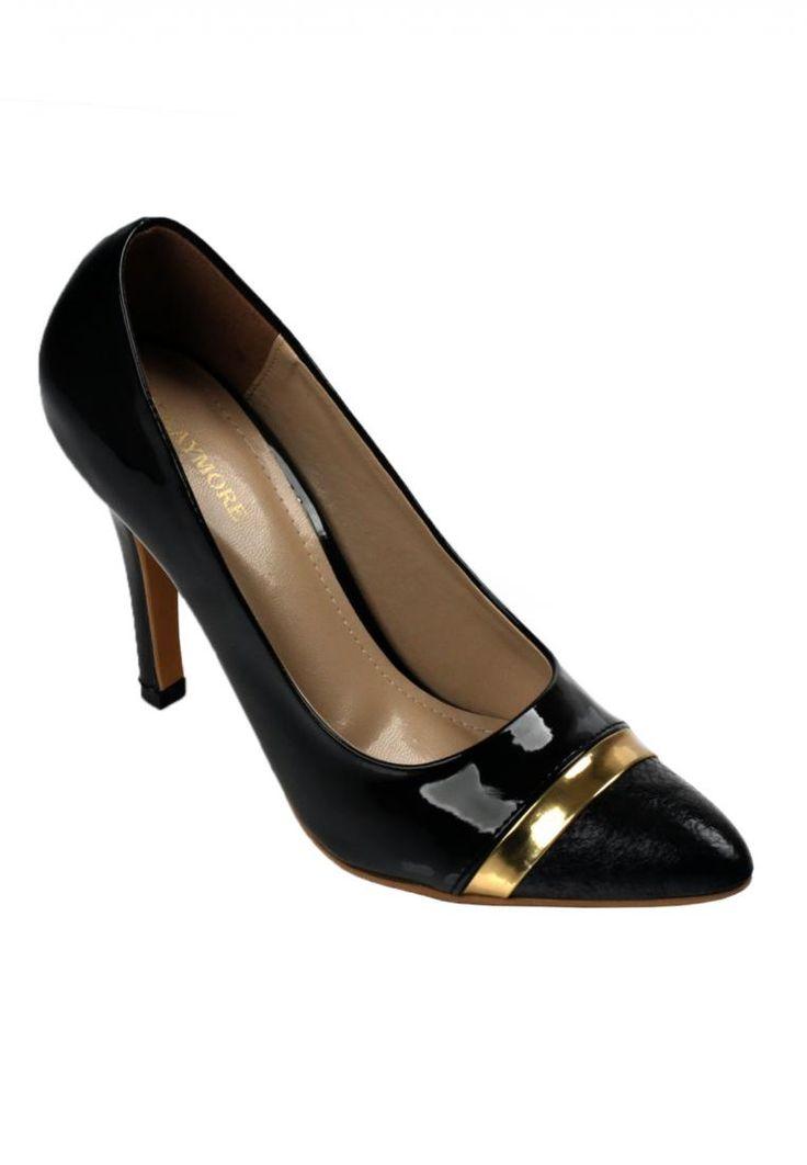 Jual sepatu wanita murah dan berkualitas: CLAYMORE Sepatu high heels mz - 09 kb black