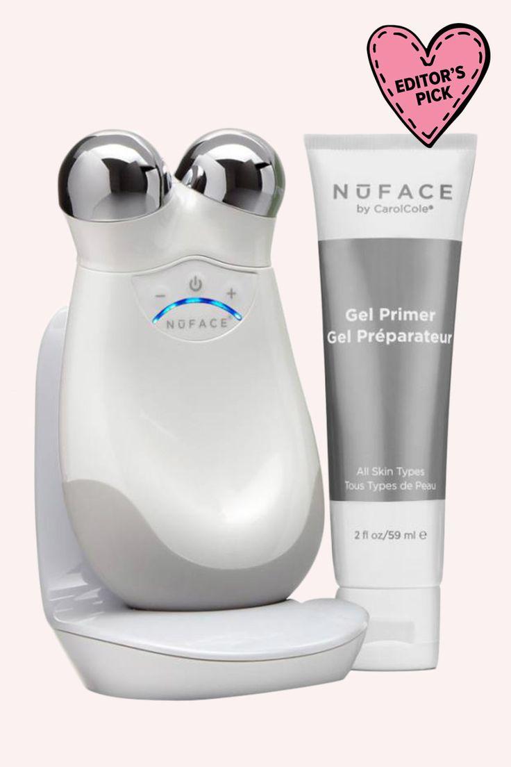 NuFace Trinity Facial Toning Device.