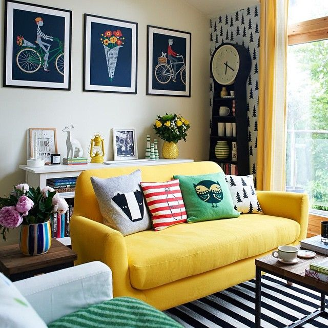 Best 25 Yellow Couch Ideas On Pinterest: Best 25+ Yellow Living Rooms Ideas On Pinterest